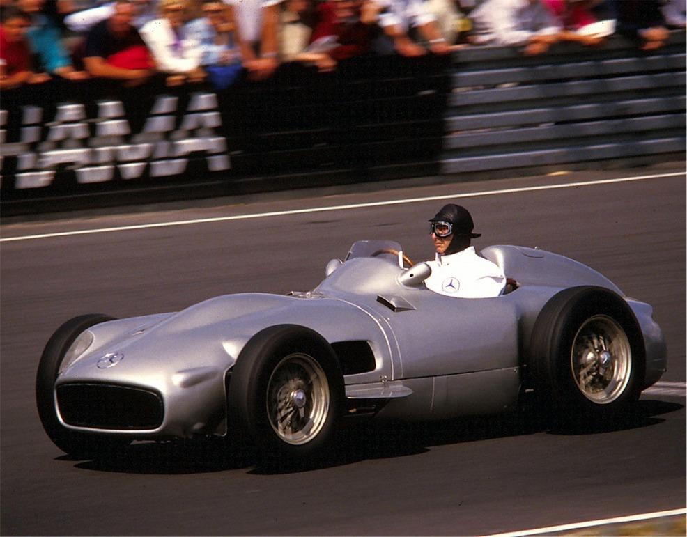 Mercedes 1954/55