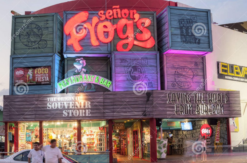 senor-frog-s-cancun-mexico-january-franchised-restaurant-bar-popular-party-scene-throughout-mexico-49806751