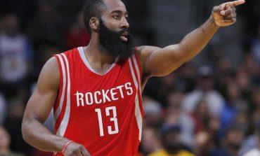 Com show de Harden, Rockets vencem líder da Conferência