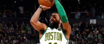 Com Irving em quadra, Celtics vencem Raptors