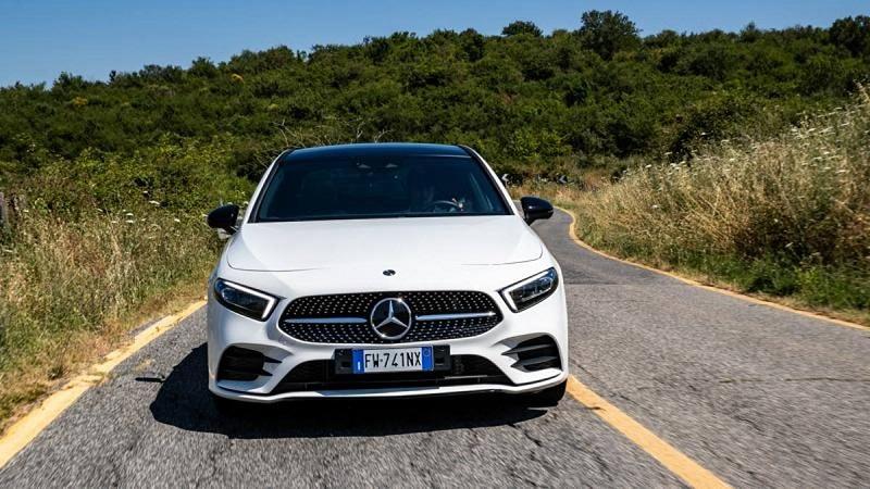 Mercedes Classe A sedan chega como o melhor carro a cortar o ar!