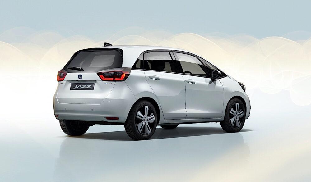 Foto exterior traseira do novo Honda Fit 2020 com mudança de design