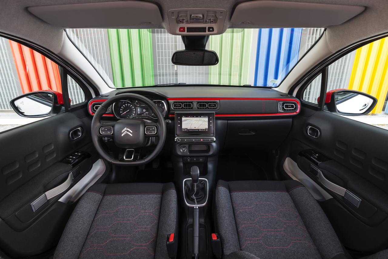Interior do novo Citroen C3
