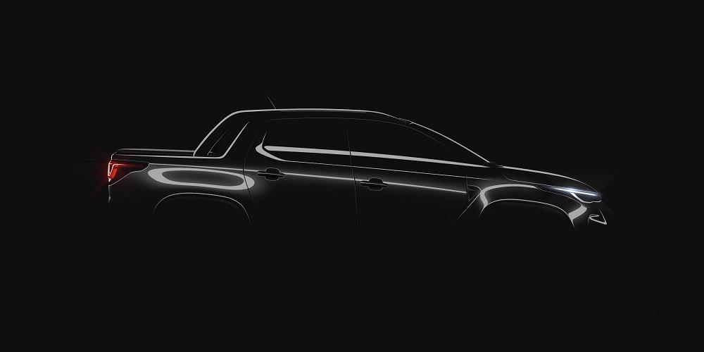 Desenho oficial da nova Fiat Strada
