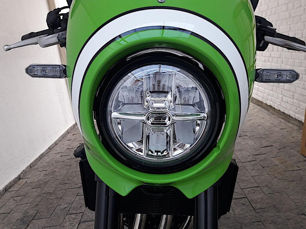 Farol da motocicleta da Kawasaki Z900RS