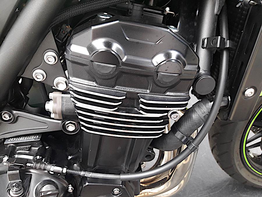 Motor da Kawasaki Z900