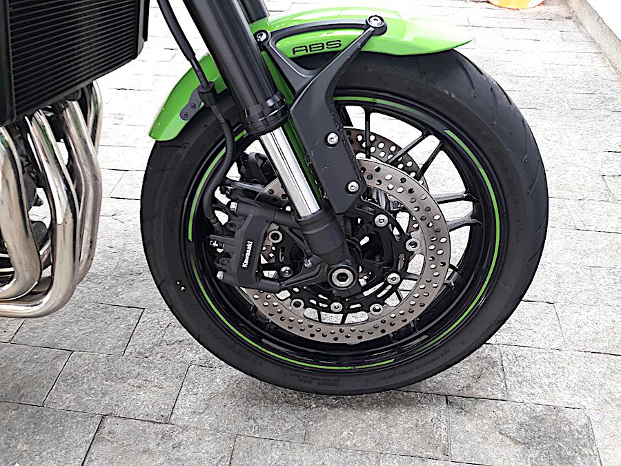 Suspensão dianteira Kawasaki Z900RS