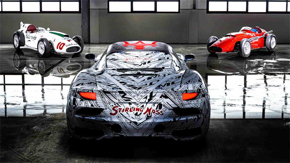 Maserati MC20 em homenagem à Stirling Moss