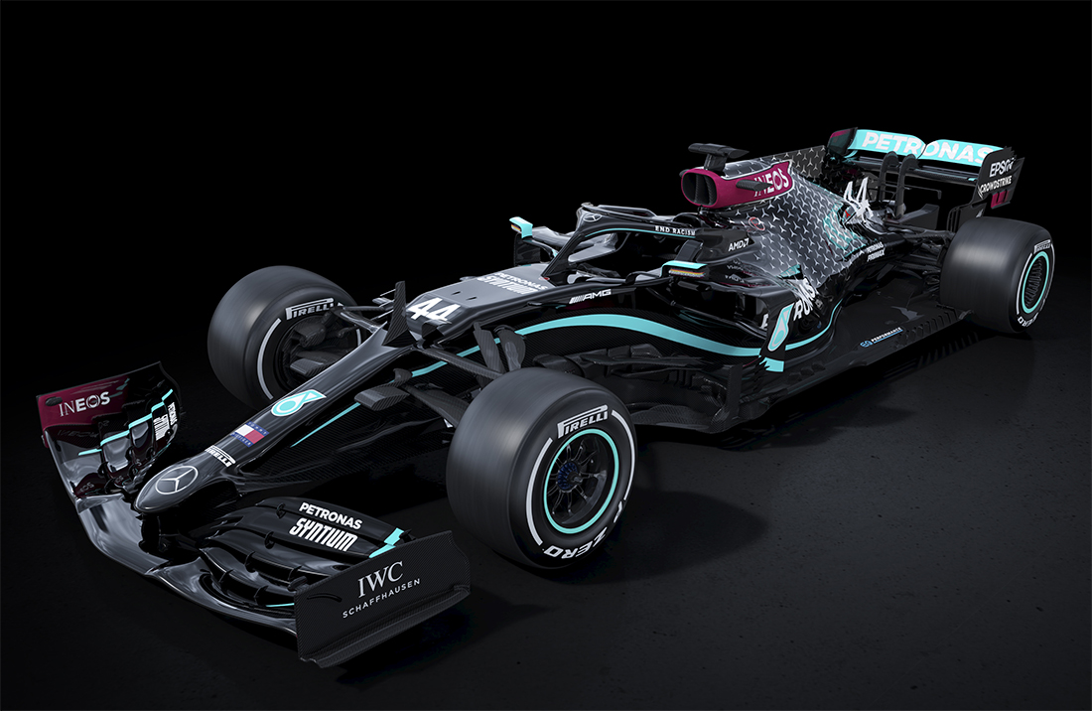 Carro da Mercedes para a temporada de 2020 da Fórmula 1