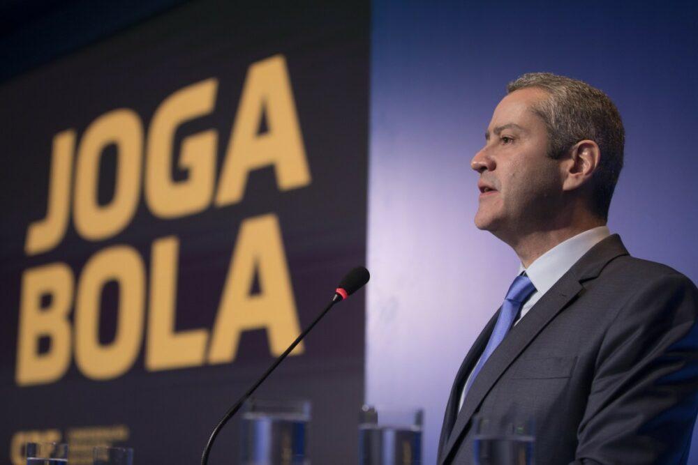 Rogerio Caboclo, presidente da Confederação Brasileira  de Futebol