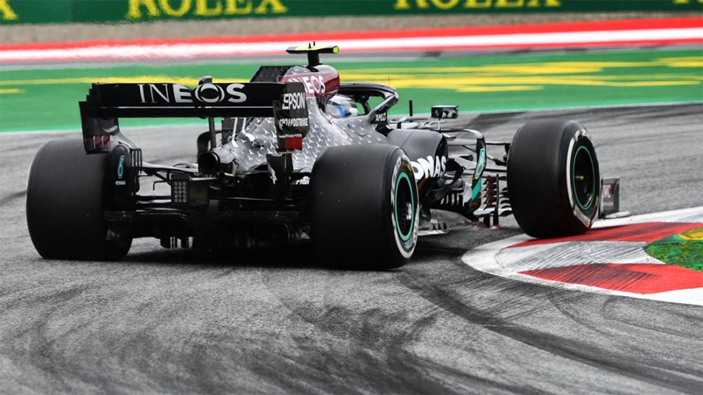 Mercedes no treino livre do GP da Austria