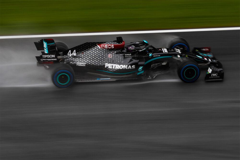Lewis Hamilton nos treinos classificatórios do GP da Estíria