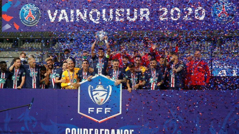 PSG campeão da Copa da França