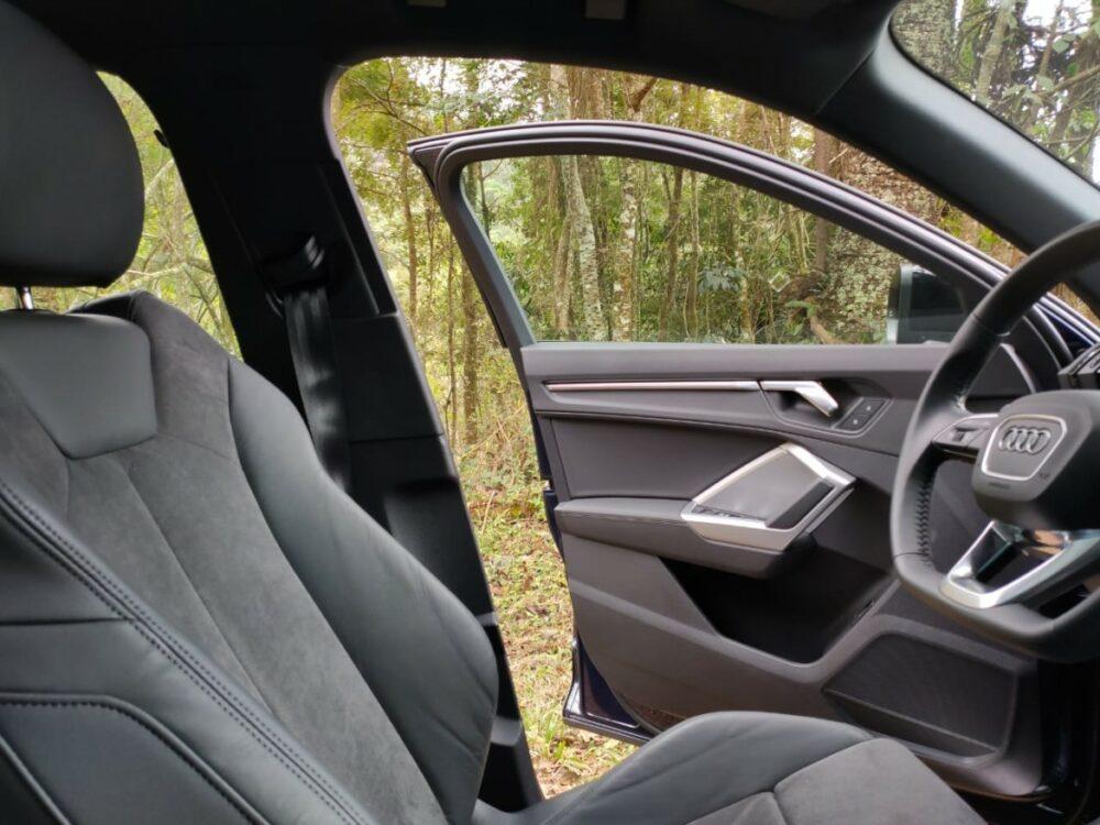 Interior do Audi Q3