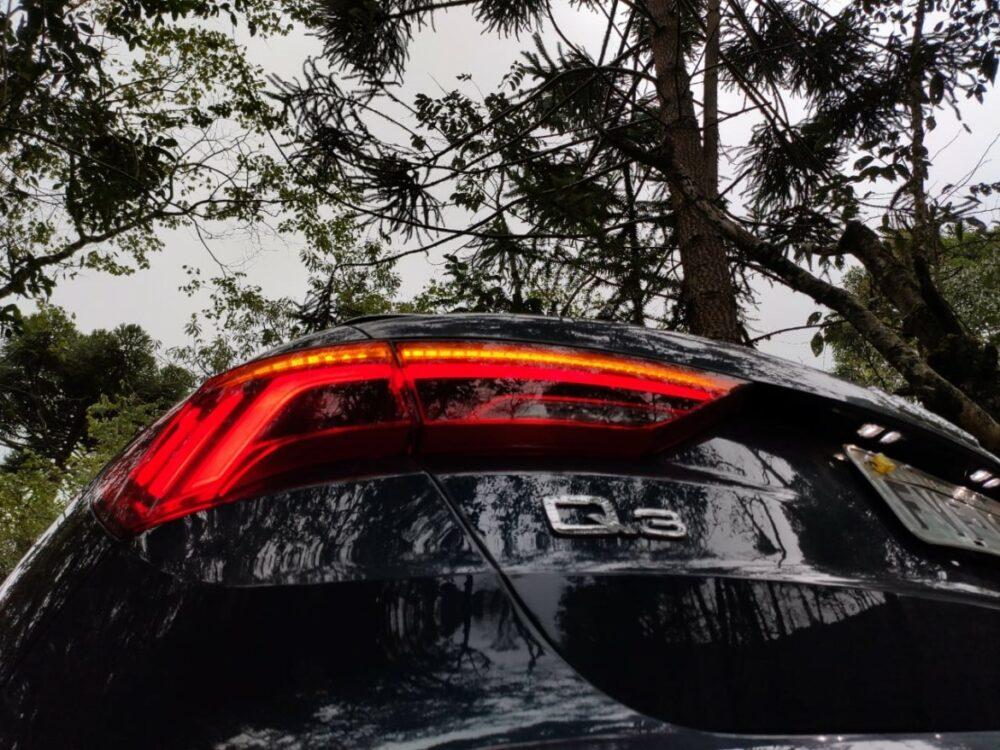 Lanterna do Audi Q3