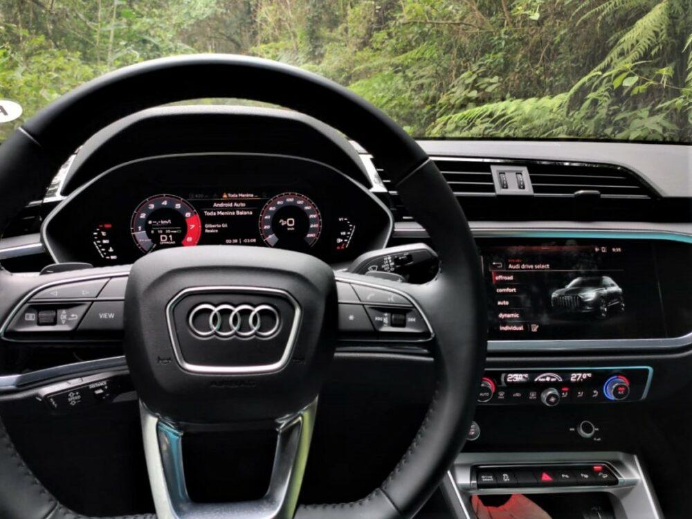 Modo de direção off road no Audi Q3