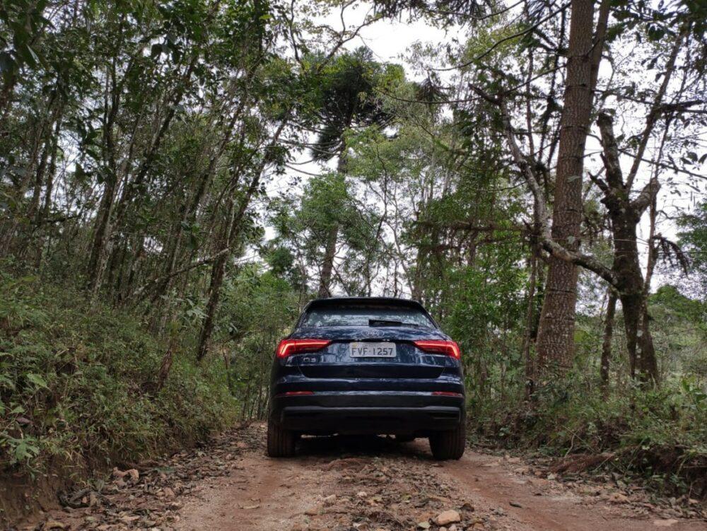 Audi Q3 4x2 off road