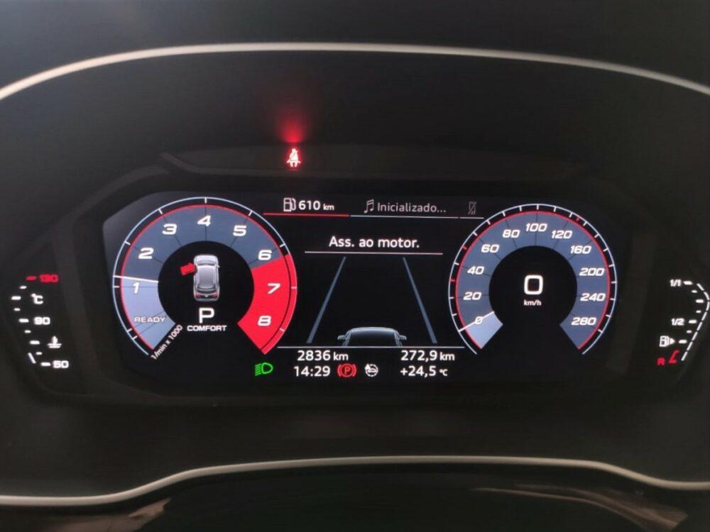 Painel do Audi Q3