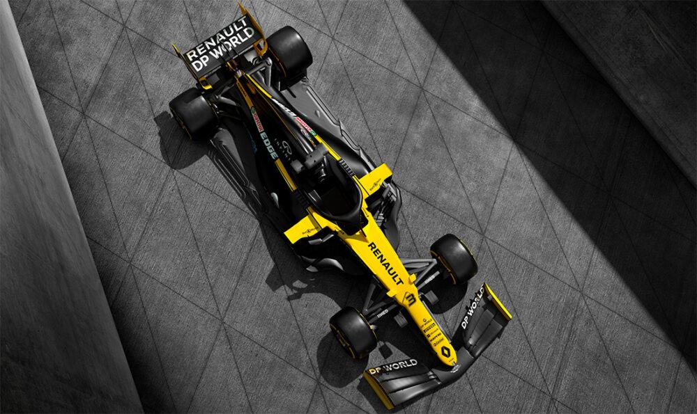 Carro da Renault para a temporada de 2020 da Fórmula 1