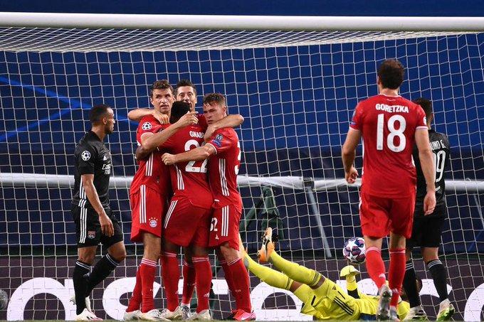 Bayern segue atropelando na Champions