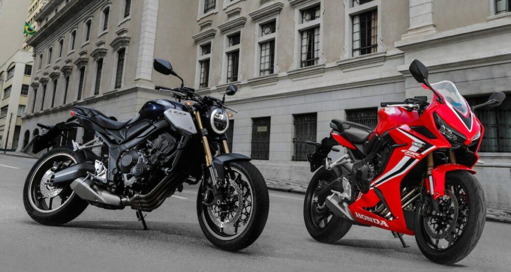 Honda CB 650R e CBR 650R