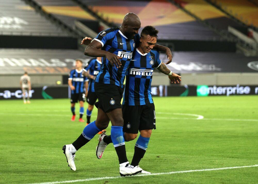 Lukaku e Martínez, destaques da vitória da Inter