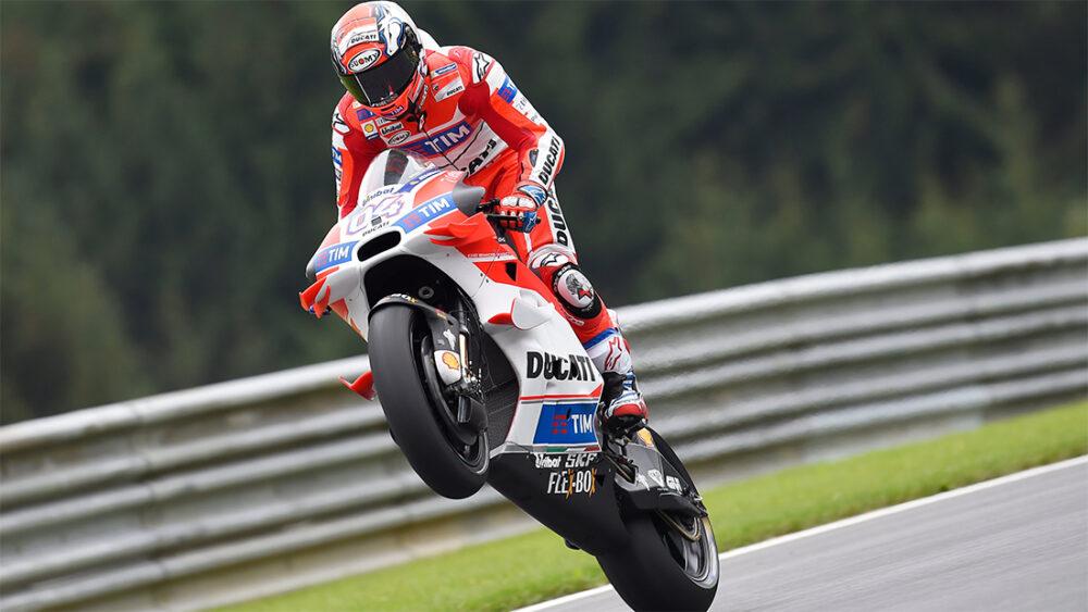 Dovizioso e Ducati na MotoGP