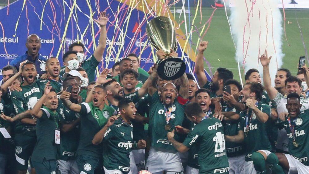 Palmeiras campeão paulista pela 23ª vez