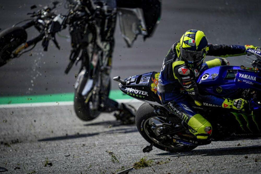 Valentino Rossi no GP da Áustria de MotoGP