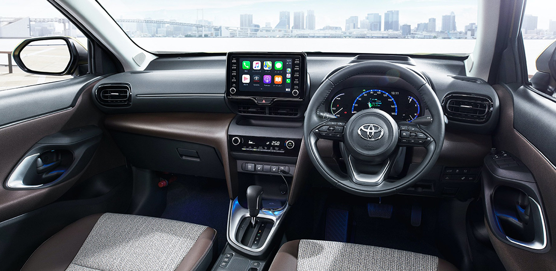 Interior Toyota Yaris Cross 2020