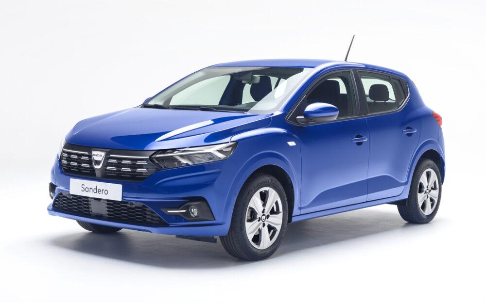 Novo Sandero 2021 - Dacia