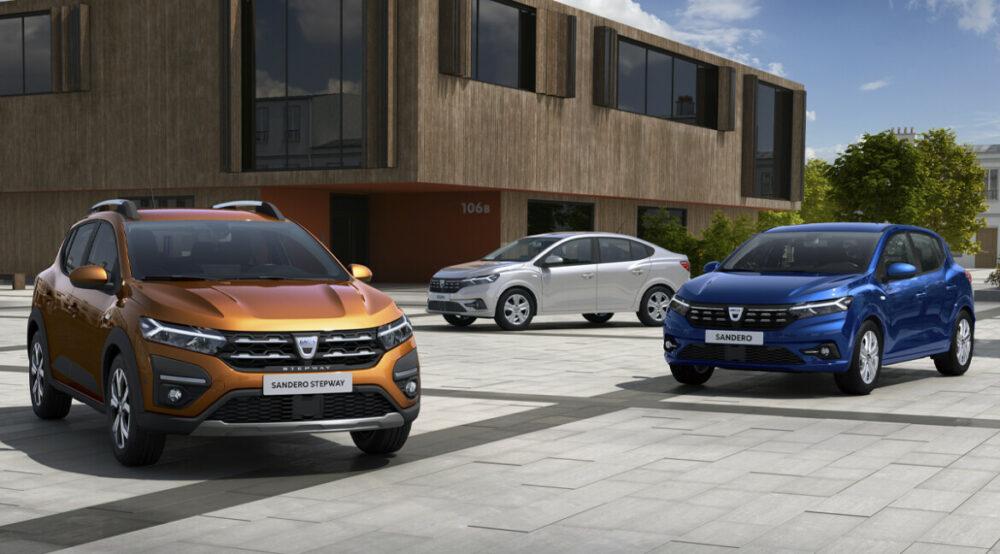 Novos Sandero, Stepway e Logan 2021 da Dacia