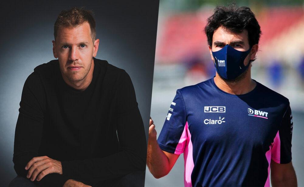 Vettel e Perez