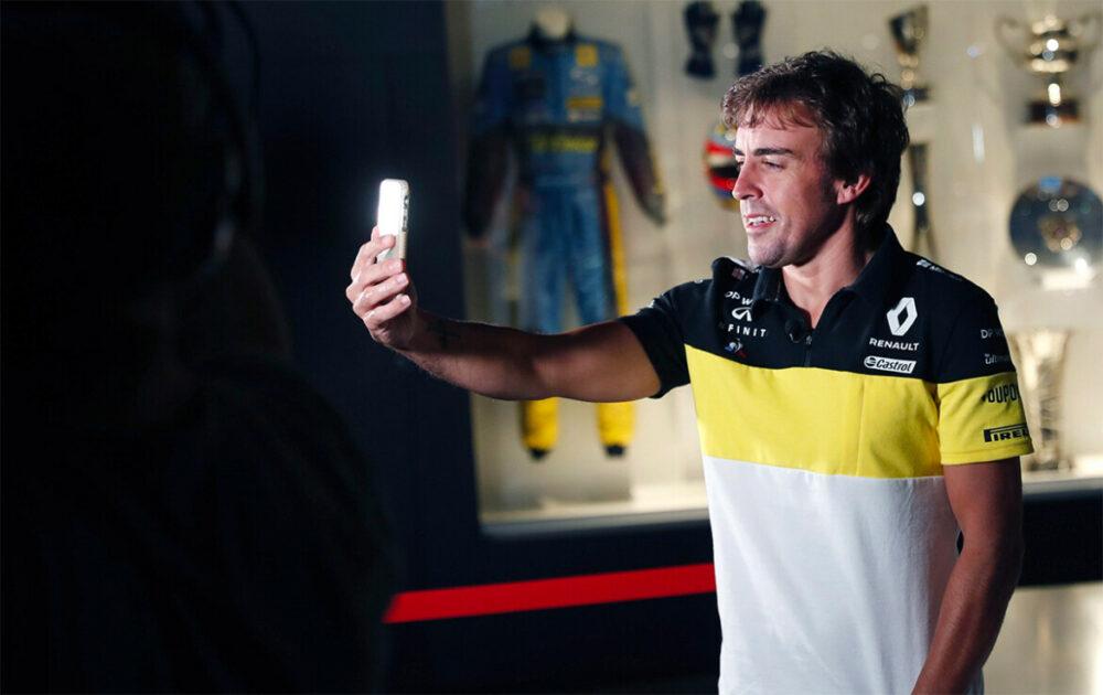 Fernando Alonso na Renault