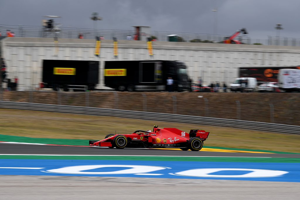 Leclerc no GP de Portugal