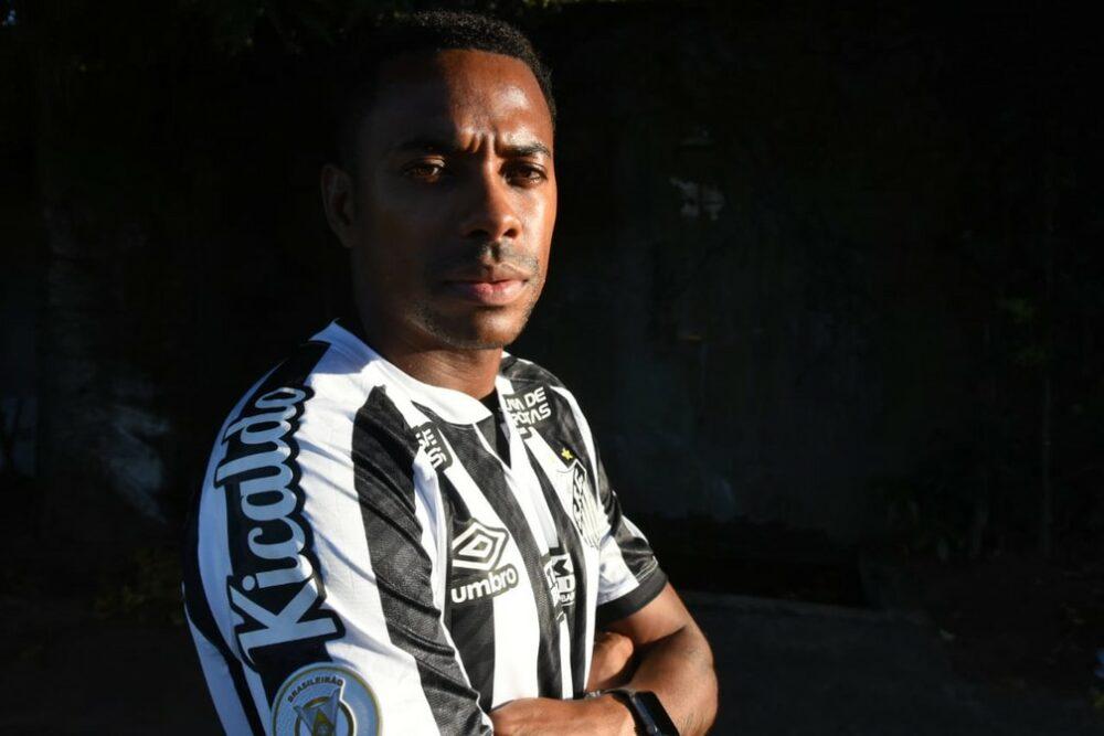 Robinho volta ao Santos