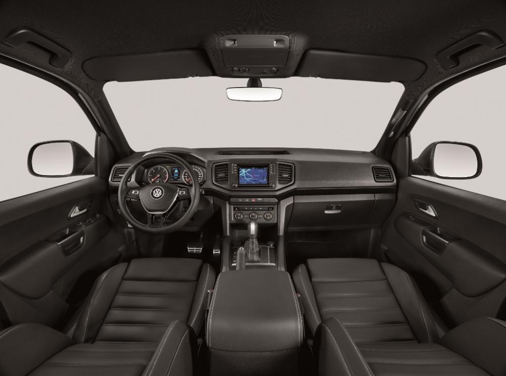 Interior da VW Amarok 2021