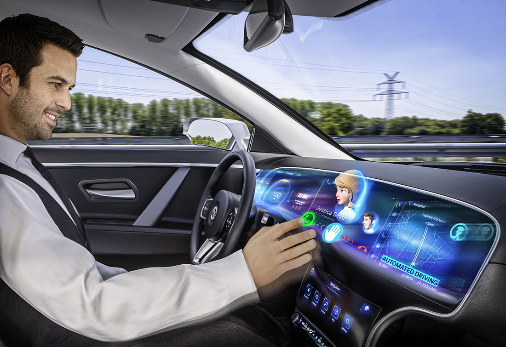 Hyundai Genesis GV80 com painel tridimensional