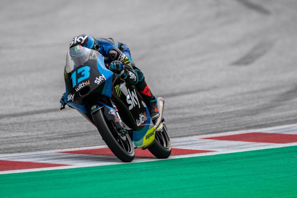 Celestino Vietti na Moto3