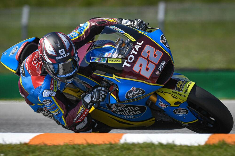 Sam Lowes na Moto2