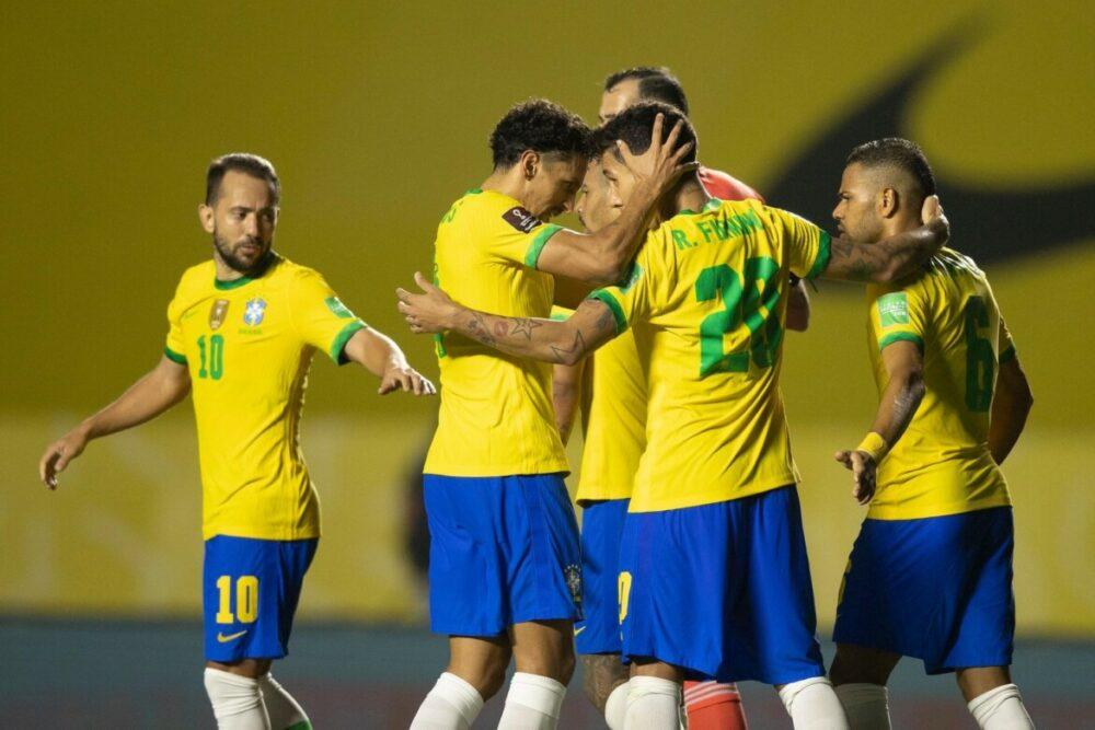 Brasil venceu com gol de Firmino, no segundo tempo