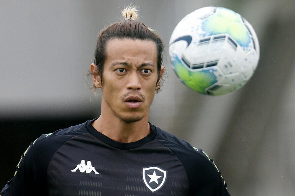 Honda em treino do Botafogo