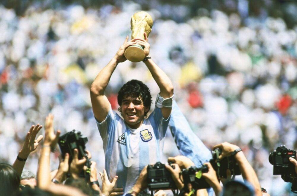 Maradona, em 1986
