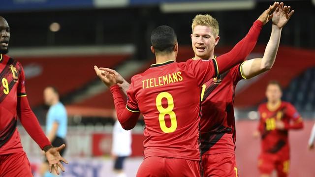 Tielemans deixou sua marca contra a Inglaterra
