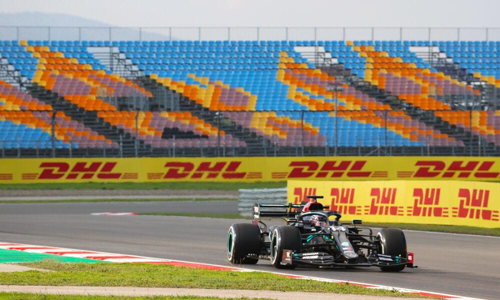 Lewis Hamilton nos treinos livres no GP da Turquia
