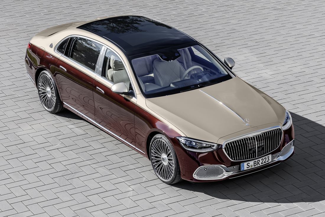 Mercedes Maybach S 2021