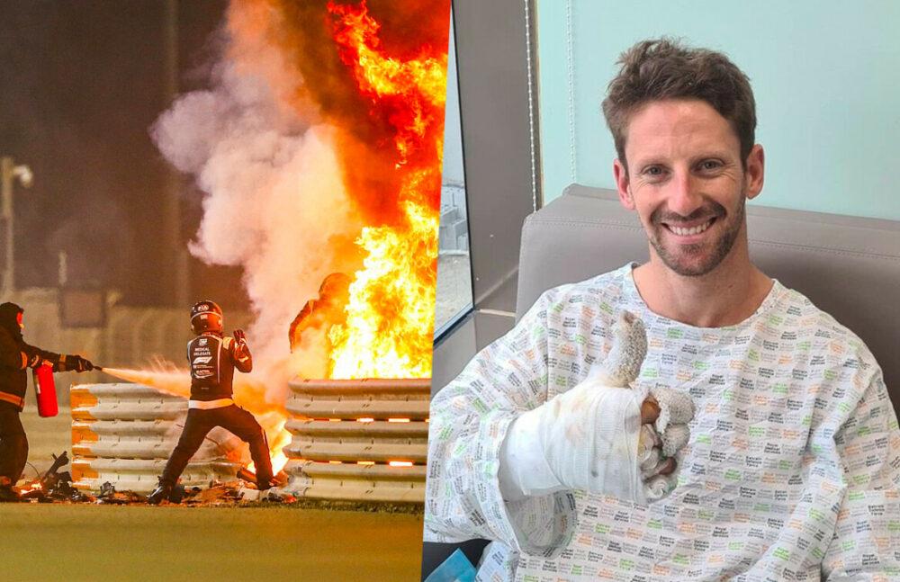 Romain Grosjean conta sobre seu acidente na Fórmula 1