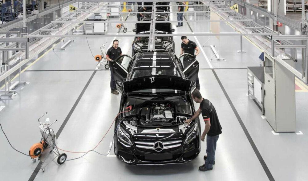 Fábrica da Mercedes-Benz