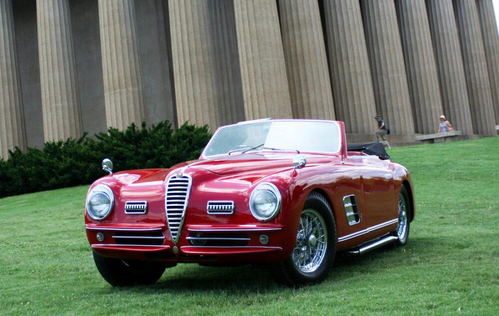 Alfa Romeo 6C 2500 SS Cabriolet Pininfarina