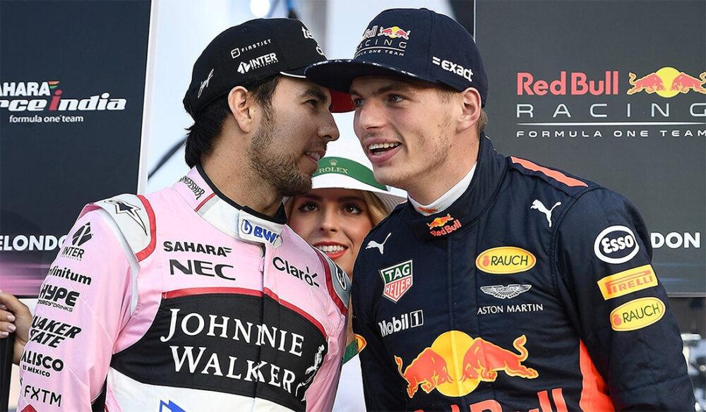 Perez e Verstappen na F1